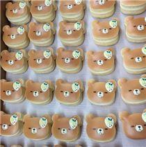 Preorder mini banana bear pancake squishy by Puni Maru
