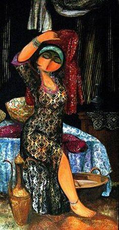 Shakir Al-Alousi (Iraqi artist) Mongolia, Sri Lanka, Timor Oriental, Nepal, Modern Art, Contemporary Art, Shabby Chic Art, Arabian Art, Vietnam
