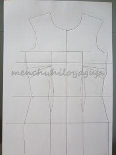 Patrones de Costura: PATRÓN VESTIDO ESCOTE CORAZÓN, UN SOLO HOMBRO Vintage, Tops, Women, Fashion, Dress Patterns, Dress Patterns, Sewing Patterns, Patron Couture, Hearts
