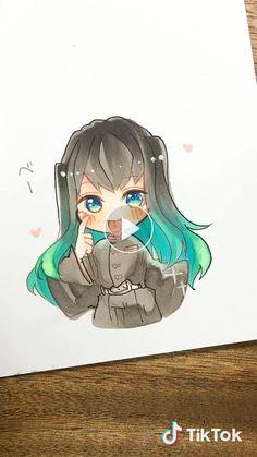 Kawaii Anime, Drawings, Cute, Fictional Characters, Dibujo, Kawaii, Sketches, Drawing, Fantasy Characters