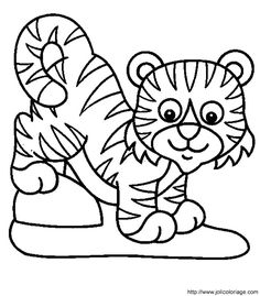 Lion Cup Color Page Animal Coloring Pages For Kids Thousands Of Free Printable