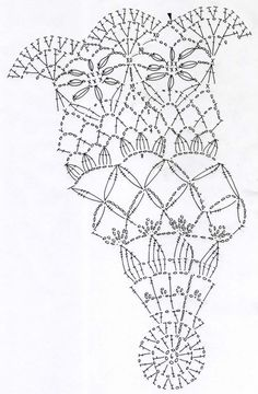 ドイリー : Crochet a little 1 Crochet Doily Diagram, Crochet Doily Patterns, Crochet Chart, Thread Crochet, Crochet Motif, Crochet Designs, Crochet Doilies, Crochet Stitches, Crochet Circles