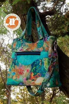 Emilina Handbag with Internal Zipper Pocket Divider PDF Pattern - RLR Creations Fabric Markers, Fabric Glue, Lining Fabric, My Bags, Purses And Bags, Pdf Sewing Patterns, Quilting Patterns, Patchwork Patterns, Patchwork Designs