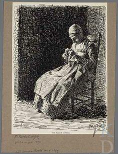 Félicien Bobeldijk Oud-Zaansch costuum, 1899 #NoordHolland #Zaanstreek