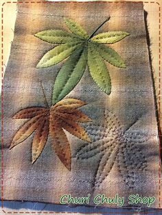 By.........Churi Chuly Shop Hand Applique, Wool Applique, Applique Patterns, Applique Quilts, Applique Designs, Quilting Designs, Quilt Patterns, Japanese Patchwork, Japanese Quilts