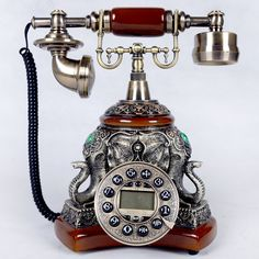 Find More Information about Fashion antique telephone antique old fashioned landline telephone vintage fashion technology phone lucky ruyi,High Quality telephone autodialer,China telephone case Suppliers, Cheap phone english from Elena Stewart's store on Aliexpress.com