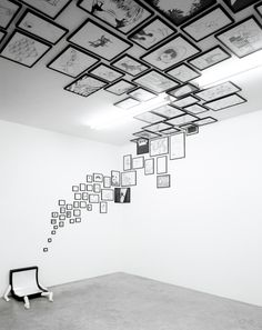 Jean-Francois Moriceau and Petra Mrzyk Ceiling Design, Wall Design, Casa Hygge, Exposition Interactive, Exposition Photo, Instalation Art, Petra, Photography Exhibition, Exhibition Display