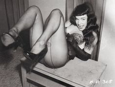 This board wouldn't be complete without a nod to Bettie Page!