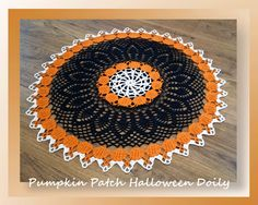 We're moving on to part 3 of our Pumpkin Patch Halloween Doily!  Quite honestly, this part is a tad bit on the boring side but so well worth the effort.  When we move on next Wednesday it's going to get exciting again - yay!Rated: IntermediatePattern Information