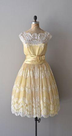 Bower of Enchantment dress lace 1950s dress by DearGolden