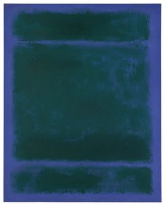 """""""UNTITLED,"""" 1970, Mark Rothko. Oil on canvas; 68 by 54 in. (172.7 by 137.2 cm.) Bunny Mellon estate auction 2014 $39,925,000."""