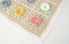 English Garden Baby Blanket