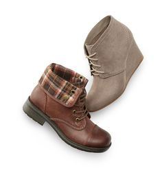 Our Yolanda and Lacie boots bring a modern twist to your winter style.