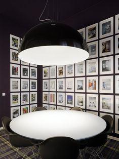 Oversized pendant. Studio Ippolito Fleitz Group, Stuttgart, 2008 by ippolito Felitz Groups