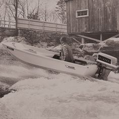 Every tale needs an event to set the narrative in motion. Click to read about Boston Whaler's #legendary history. Boston Whaler Boats, Boat Sales, Motor Boats, Boats For Sale, Water Crafts, Boating, Gadgets, History, Classic