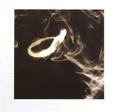 Smoke Rings by Donald Sultan