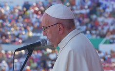 """Spe Deus: Intervenção do Santo Padre durante o Encontro com as Famílias no Estádio """"Victor Manuel Reyna"""" de Tuxtla Gutiérrez"""