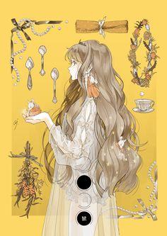Manga Anime Girl, Cool Anime Girl, Manga Art, Pretty Art, Cute Art, Character Design Inspiration, Cartoon Art, Aesthetic Anime, Art Reference