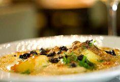 Bacalhau com natas, um dos pratos do cardápio especial da Tasca da Esquina para a SPRW (Foto: Rafael Wainberg / Divulgação)