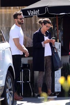 Jamie & Millie at Katsuya Restaurant in LA. 3.8.18