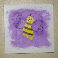 Handprint and Footprint Canvas Art