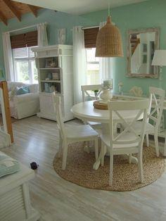 Seafoam Octopus Ceramic Decorator Hamptons Coastal Beach House Home Decor