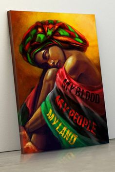This inspires the idea of an assignment that somehow deals with students' heritages. Black Love Art, Black Girl Art, Art Girl, Afrique Art, African Art Paintings, Black Art Pictures, Black Artwork, Afro Art, We Are The World