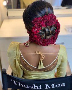 Another magic created by my darling @thushi_mua JUST TOO GOOD ♥️♥️♥️ Model @madhuvanthy_janaranjan jewellery @vrddhiuk Saree… Indian Hairstyles, Bun Hairstyles, Bridal Hairstyles, Best Model, Saree Blouse, Blouse Designs, Dreadlocks, Hair Styles, Blouses