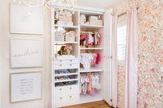 Ali Fedotowsky's Nursery Closet - Closet Design by LA Closet Designs