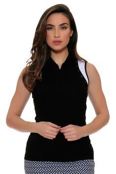 Golf Attire   EP Pro Power Play Golf Sleeveless Shirt : 5738LC