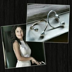 My Girlfriend rings - as seen on Lisa Edelstein on Girlfriends' Guide to Divorce!!!! Check them out on BravoTV and at www.thelovelysmith.ca
