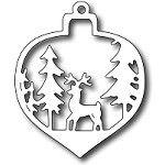 Frantic, Deer Christmas Bauble