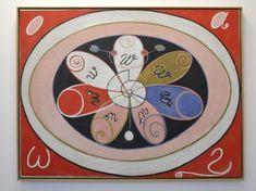 A Arte Oculta de Hilma af Klint e sua Pintura para o Futuro: Piet Mondrian, Wassily Kandinsky, Klimt, Sophie Taeuber Arp, Hilma Af Klint, Serpentina, Action Painting, Arte Popular, Oil Painting Reproductions