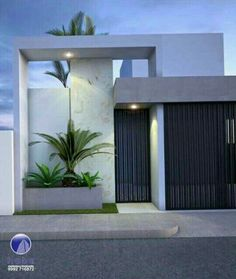 Fence Wall Design, Exterior Wall Design, Modern Fence Design, Front Gate Design, Door Gate Design, House Gate Design, Entrance Design, Facade Design, Modern House Design