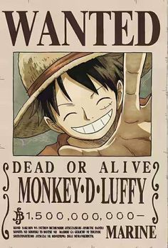Monkey D. Luffy's new bounty After Whole Cake Island Arc! 1.5 Billion Beli OMG!!!