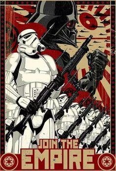 Star Wars – The Empire is calling you. Star Wars – The Empire is calling you. Star Wars Fan Art, Theme Star Wars, Star Wars Meme, Vintage Illustration, Digital Illustration, Photographie Street Art, Star Wars Zeichnungen, Images Star Wars, Cuadros Star Wars