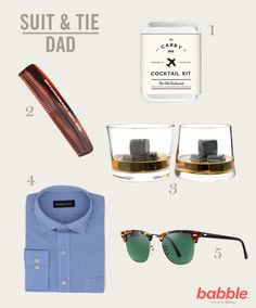 5 great Father's Day gift ideas for the dapper dad in your life!