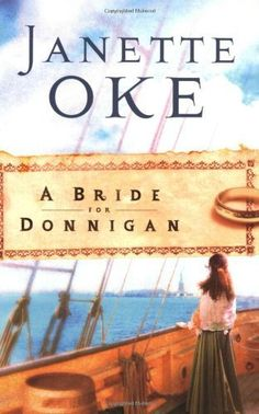 A Bride for Donnigan (Women of the West #7) by Janette Oke, http://www.amazon.com/dp/B001IV5QZY/ref=cm_sw_r_pi_dp_xO3Gqb05GNJ8S