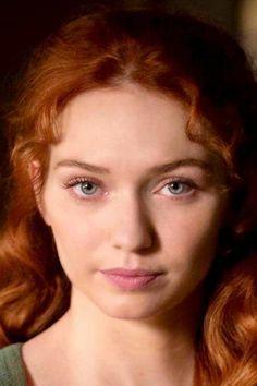#GingerHairInspiration- Eleanor Tomlinson
