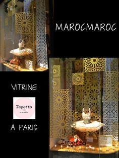 MarocMaroc, Vitrine Repetto à Paris