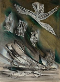 Jimmy Ernst  Move on up a little higher, 1947