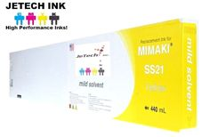 Mimaki SS21 Mild Solvent Compatible 440ml Ink Cartridge (SPC-501) - Yellow #JeTechInk