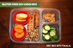 Kids Lunch Box Ideas: Breakfast Leftovers - Don't Mess with Mama