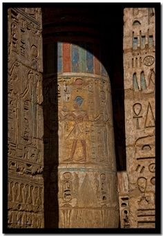 3000 ans de couleurs, Médinet Habou. I would love to go back in time and see all of Egypt in full color! That would be amazing