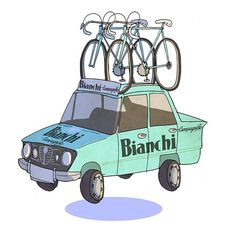 classicvintagecycling: Bianchi by Ben Scruton. Retro Bicycle, Old Bicycle, Bicycle Art, Cycling Art, Cycling Bikes, Road Cycling, Road Bikes, Bianchi Methanol, Bike Drawing
