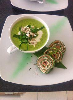 Exzellente Bärlauchsuppe, ein sehr schönes Rezept mit Bild aus der Kategorie Gebundene. 236 Bewertungen: Ø 4,4. Tags: einfach, Frühling, gebunden, gekocht, Schnell, Suppe, Vegetarisch, Vorspeise, warm