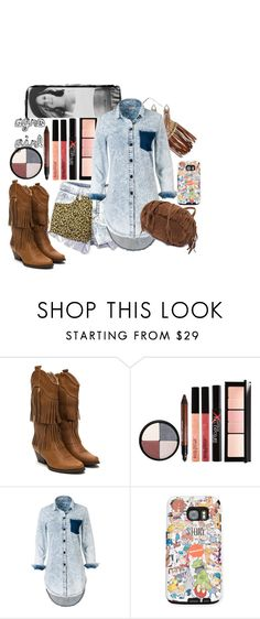 """agro girl"" by elisinhahalliwell on Polyvore featuring Smashbox"