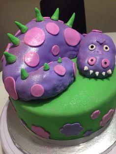 Girly dinosaur cake
