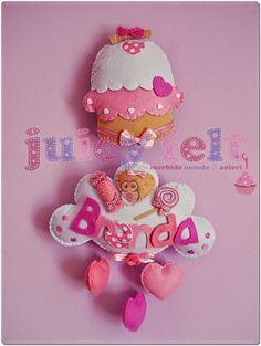 Juicy felt: Un dolcissimo fiocco nascita per Brenda