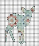 woodland fawn - free pattern.
